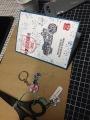 Fun Scissor Charm, Keyring and CardClass